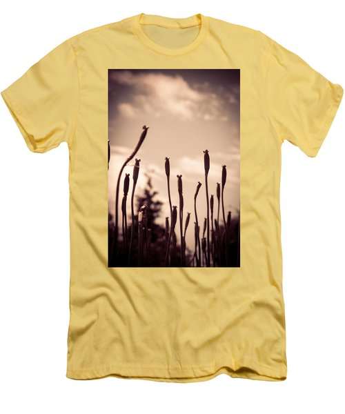 Flowers Reaching For The Sky Men's T-Shirt (Athletic Fit)
