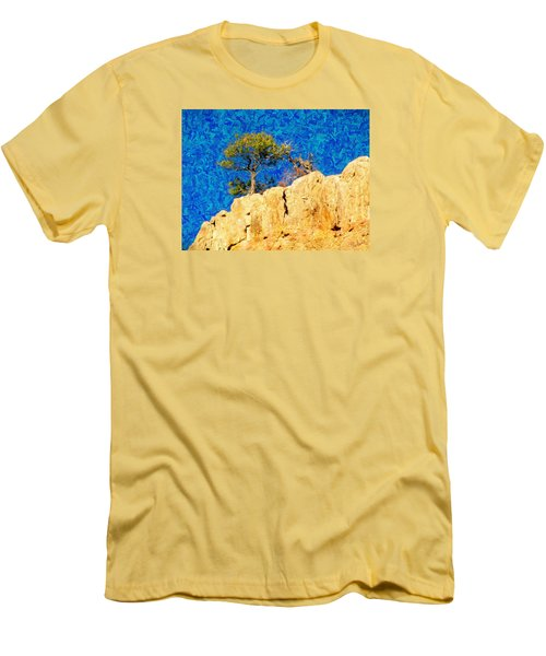 Red Canyon - Dixie National Forest Men's T-Shirt (Athletic Fit)
