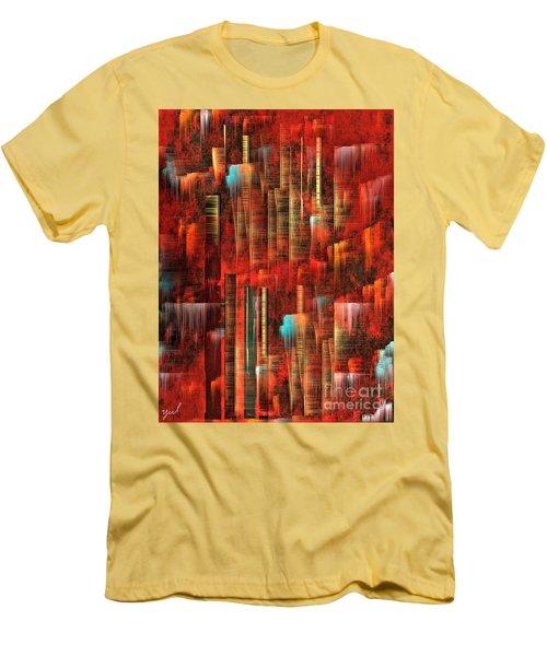 Concrete Jungle Men's T-Shirt (Slim Fit) by Yul Olaivar
