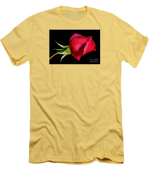 Red Hot Men's T-Shirt (Slim Fit) by Nick  Boren