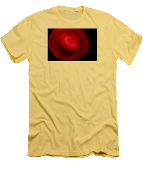 Men's T-Shirt (Slim Fit) featuring the photograph Red Light by Joel Loftus
