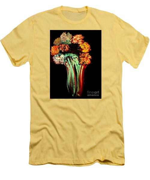Red Vase Revisited Men's T-Shirt (Athletic Fit)