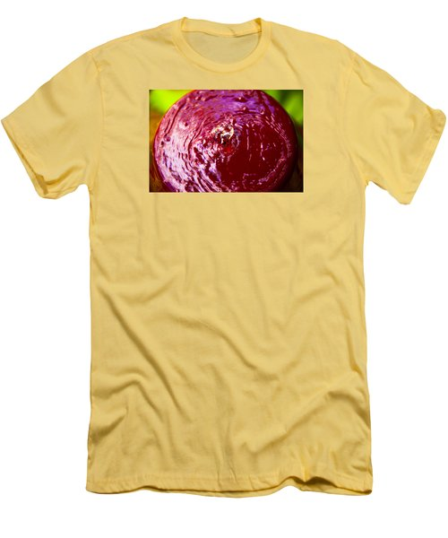 Men's T-Shirt (Slim Fit) featuring the photograph Reflection Time by Mez