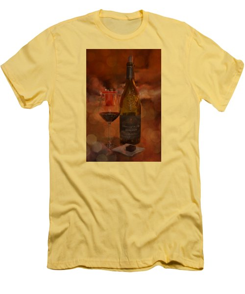 Rich And Luscious Men's T-Shirt (Slim Fit) by Carla Parris