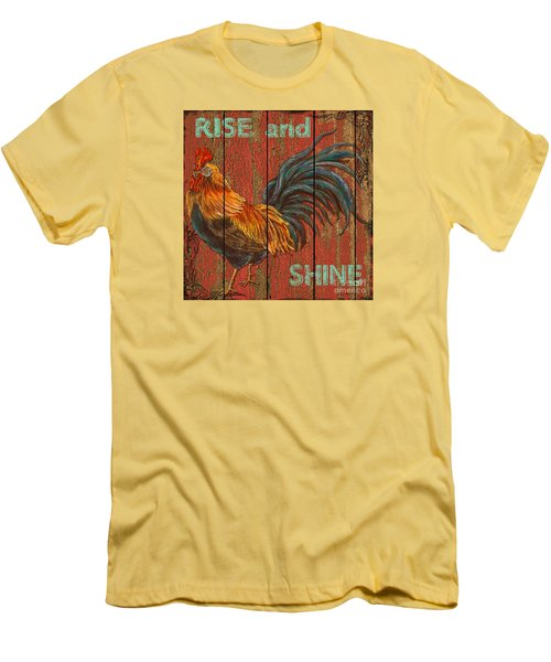 Rise And Shine Men's T-Shirt (Slim Fit) by Jean PLout