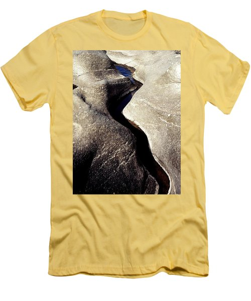River Rock Sculptured Men's T-Shirt (Athletic Fit)