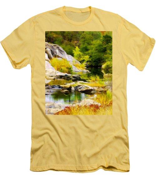 River Spirit Men's T-Shirt (Athletic Fit)
