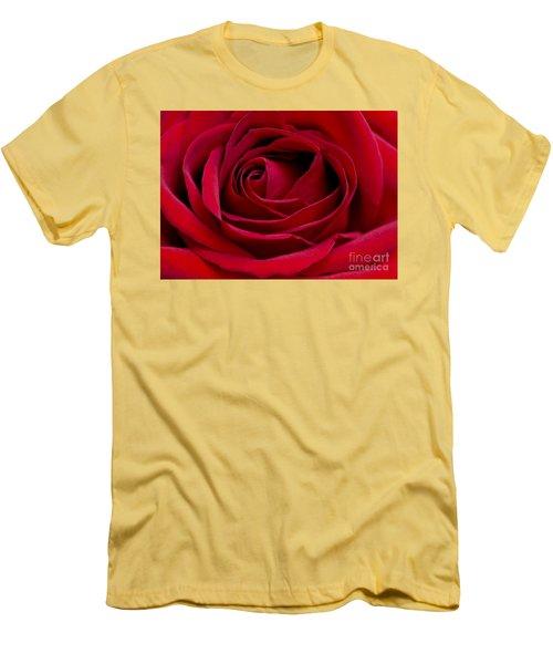 Eye Of The Rose Men's T-Shirt (Slim Fit) by Nick  Boren