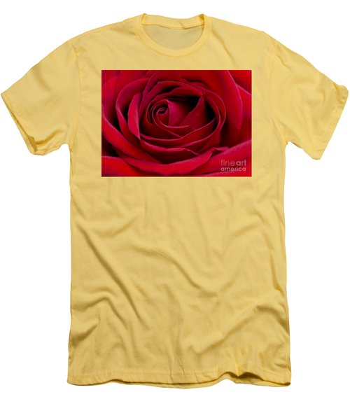 Eye Of The Rose Men's T-Shirt (Athletic Fit)