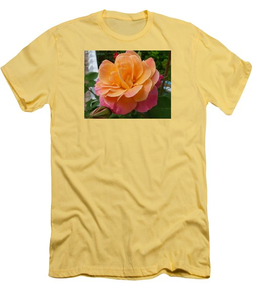 Men's T-Shirt (Slim Fit) featuring the photograph Rosemary And Thyme by Lingfai Leung