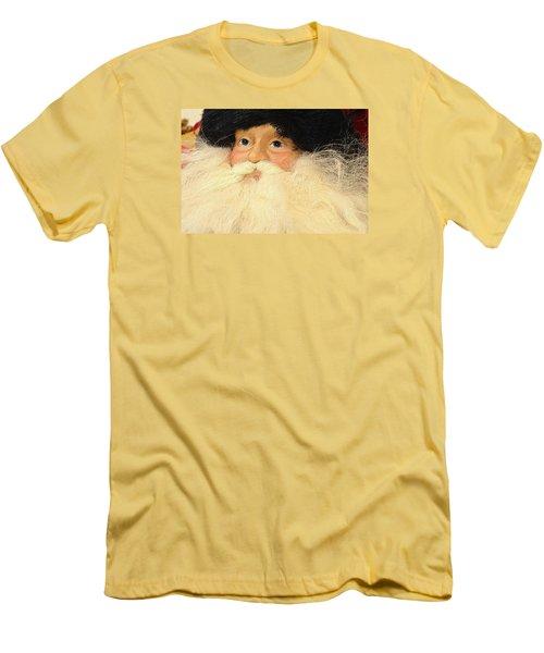 Russian Santa Men's T-Shirt (Slim Fit) by Nadalyn Larsen