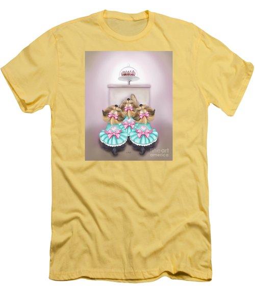 Saint Cupcakes Men's T-Shirt (Athletic Fit)