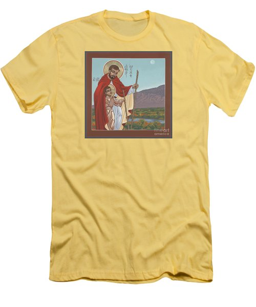 San Jose En El Rio Grande 268 Men's T-Shirt (Slim Fit) by William Hart McNichols