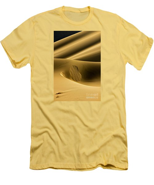 Sand Avalanche Men's T-Shirt (Slim Fit) by Michael Cinnamond