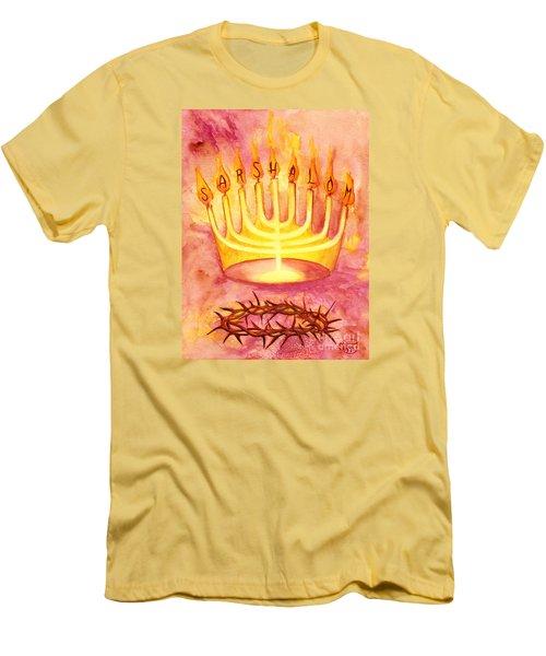 Sar Shalom Men's T-Shirt (Athletic Fit)