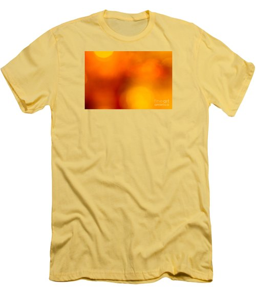Men's T-Shirt (Slim Fit) featuring the photograph Shades Of Spheres by Cathy Dee Janes