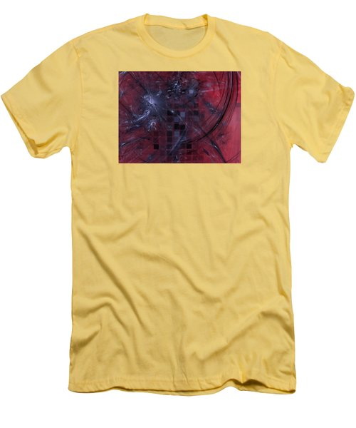 Men's T-Shirt (Slim Fit) featuring the digital art She Wants To Be Alone by Jeff Iverson
