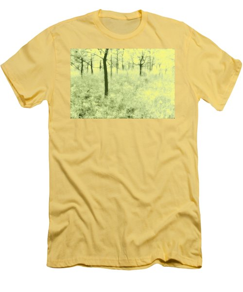 Men's T-Shirt (Slim Fit) featuring the photograph Shimmering Spring Day by John Hansen