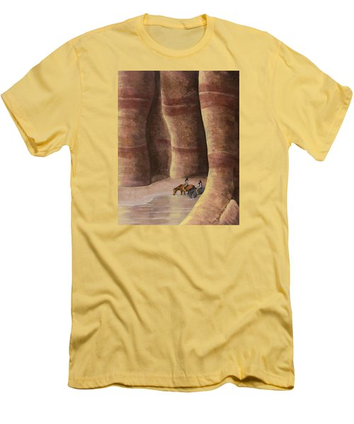 Signs Of The Past Men's T-Shirt (Slim Fit) by Jack Malloch