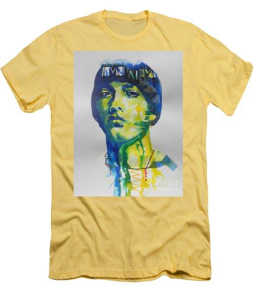 Rapper  Eminem Men's T-Shirt (Athletic Fit)