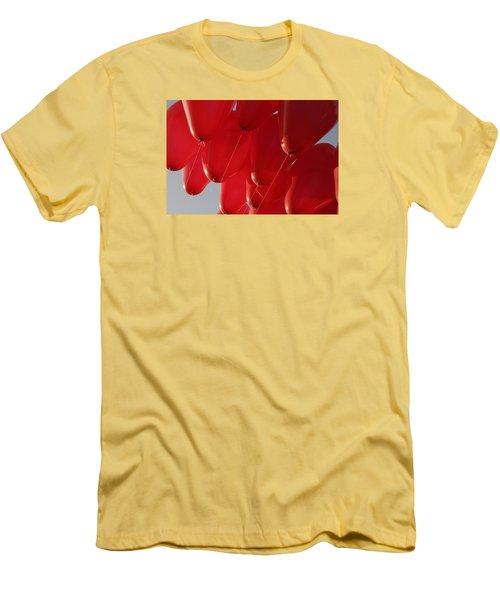 Skc 0029 Unity In Flying Men's T-Shirt (Slim Fit) by Sunil Kapadia