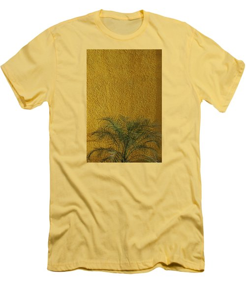 Men's T-Shirt (Slim Fit) featuring the photograph Skc 1243 Colour And Texture by Sunil Kapadia
