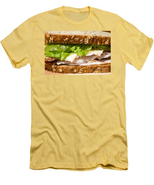 Smoked Turkey Sandwich Men's T-Shirt (Athletic Fit)