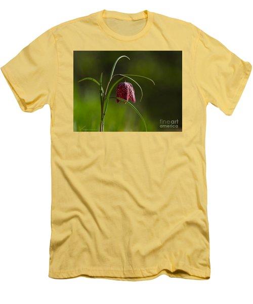 Snake's Head Men's T-Shirt (Slim Fit) by Torbjorn Swenelius