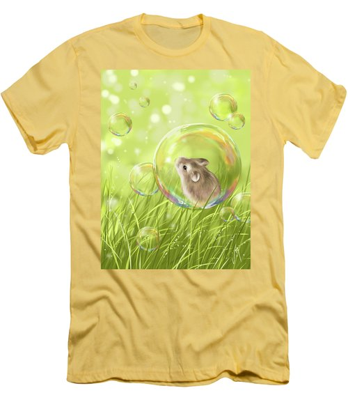 Soap Bubble Men's T-Shirt (Athletic Fit)