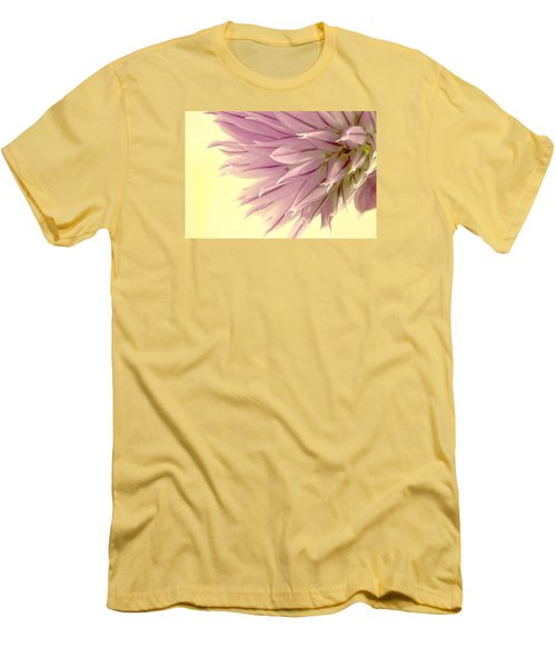 Soft And To The Point Men's T-Shirt (Slim Fit) by Sandra Foster