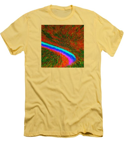 Solar Winds C2014 Men's T-Shirt (Slim Fit) by Paul Ashby