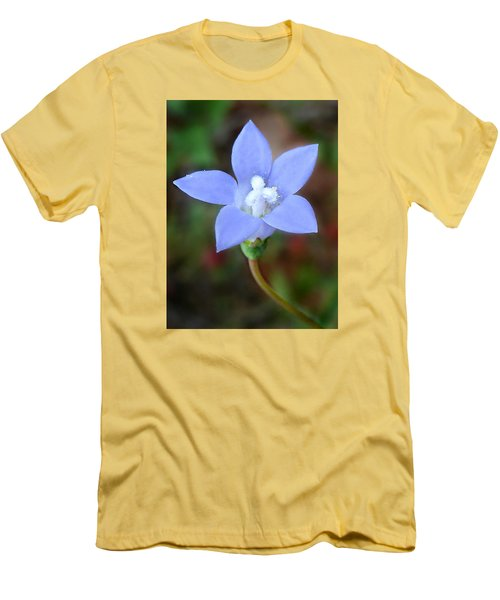 Wild Southern Rockbell  Men's T-Shirt (Slim Fit) by William Tanneberger