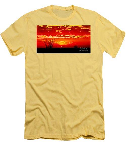 Southwest Sunset Men's T-Shirt (Slim Fit) by Robert Bales