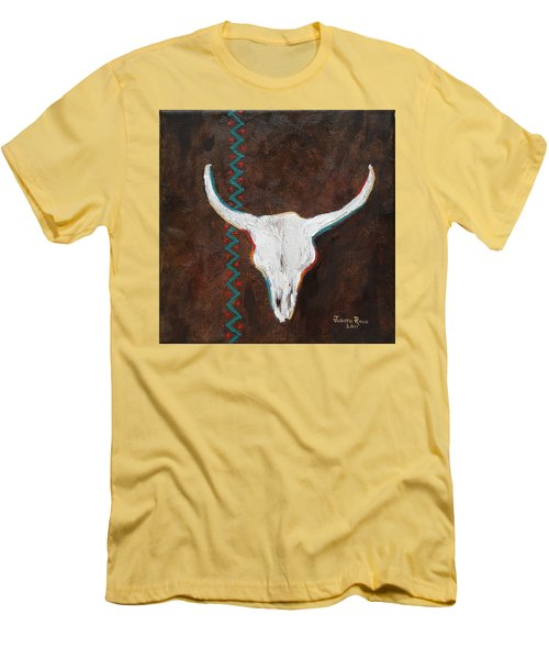 Southwestern Influence Men's T-Shirt (Slim Fit) by Judith Rhue