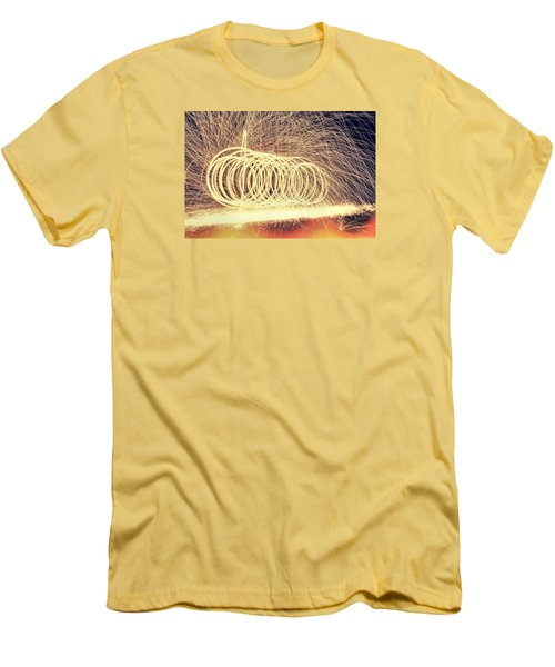 Sparks Men's T-Shirt (Slim Fit) by Dan Sproul