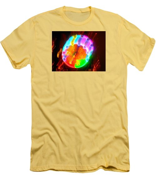 Spinning Orb In The Cosmos Men's T-Shirt (Athletic Fit)