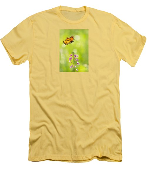 Spring Delight Men's T-Shirt (Slim Fit) by Alice Cahill