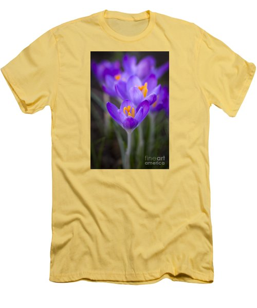 Spring Has Sprung Men's T-Shirt (Slim Fit) by Clare Bambers