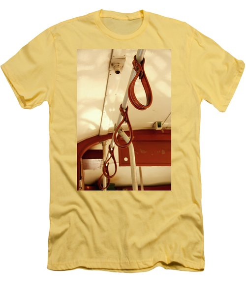 Men's T-Shirt (Slim Fit) featuring the photograph St. Charles Streetcar by KG Thienemann