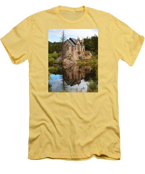 St. Malo Men's T-Shirt (Slim Fit) by Jim Garrison