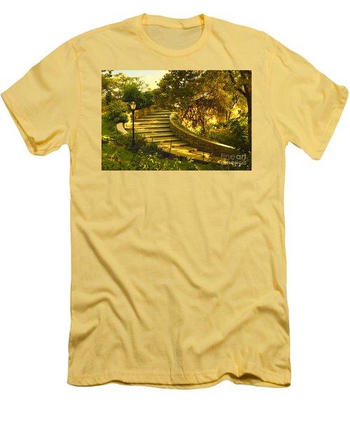 Stairway To Nirvana Men's T-Shirt (Slim Fit) by Madeline Ellis