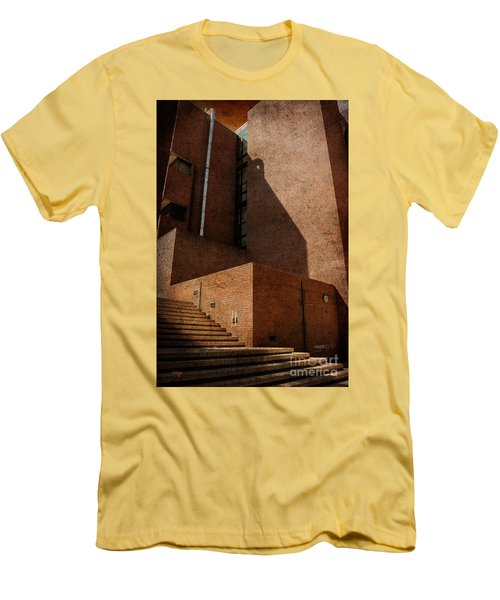 Stairway To Nowhere Men's T-Shirt (Slim Fit) by Lois Bryan