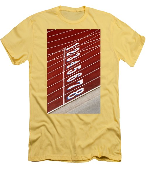 Track Starting Line Men's T-Shirt (Athletic Fit)