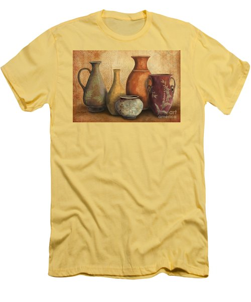 Still Life-c Men's T-Shirt (Slim Fit) by Jean Plout