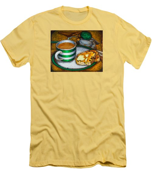 Still Life With Green Touring Bike Men's T-Shirt (Athletic Fit)