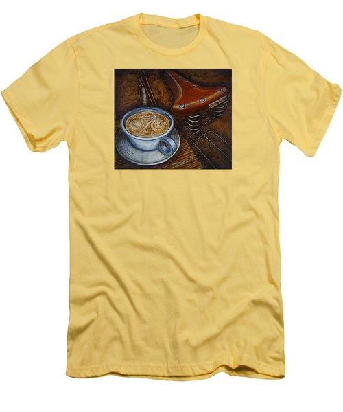 Still Life With Ladies Bike Men's T-Shirt (Slim Fit) by Mark Jones