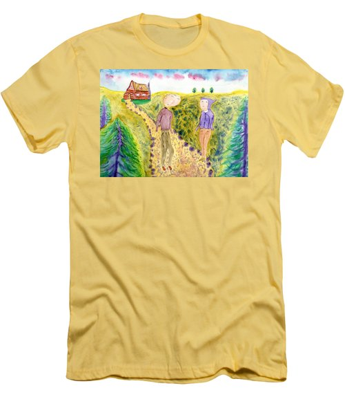 Cabin Trail Men's T-Shirt (Athletic Fit)