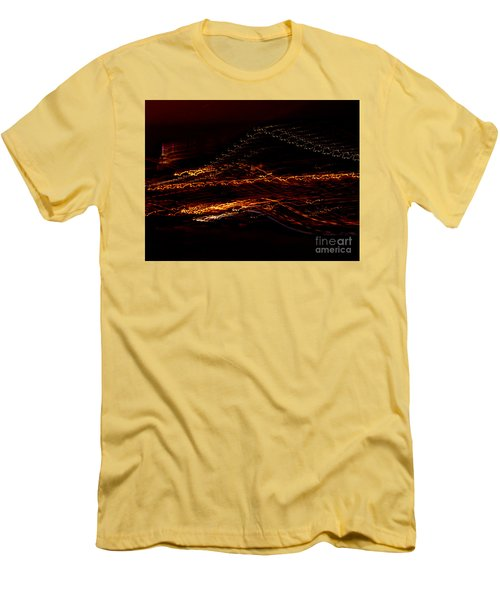 Streaks Across The Bridge Men's T-Shirt (Athletic Fit)