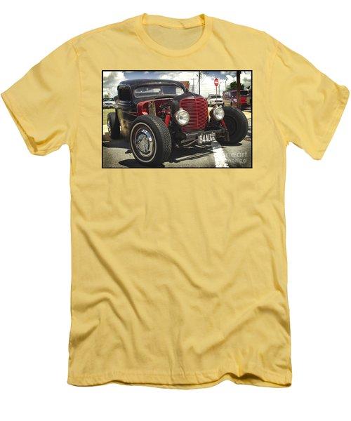Street Rod Truck Men's T-Shirt (Slim Fit) by James C Thomas