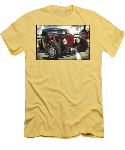 Street Rod Truck Men's T-Shirt (Athletic Fit)